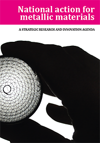 Strategic research and innovation agenda of metallic materials